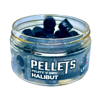 LK Baits Pellet in dip Halibut 12mm, 60g