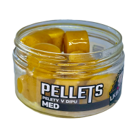 LK Baits Pellets in dip Honey 17mm, 60g