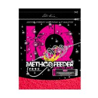 IQ Method Feeder Speed Fluoro Pellets 600g Cherry 4mm