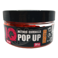 LK Baits IQ Method Dumbels Pop-Up 10mm, 30 g Exotic