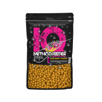 LK Baits IQ Method Feeder Boilies 10-12mm, 600g Maďarský Med/Hungarian Honey
