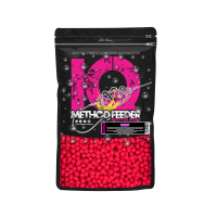 LK Baits IQ Method Feeder Fluoro Boilies 10-12mm,600g Cherry