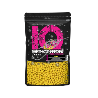 LK Baits IQ Method Feeder Fluoro Boilies 10-12mm,600g Citrus