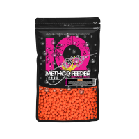LK Baits IQ Method Feeder Fluoro Boilies 10-12mm,600g Exotic