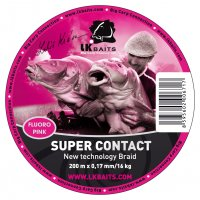 LK Baits SUPER CONTACT Braid 200m 0,17mm/16kg