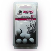 LK Baits ZIG RIG Pop–Up 14 mm – Black/White